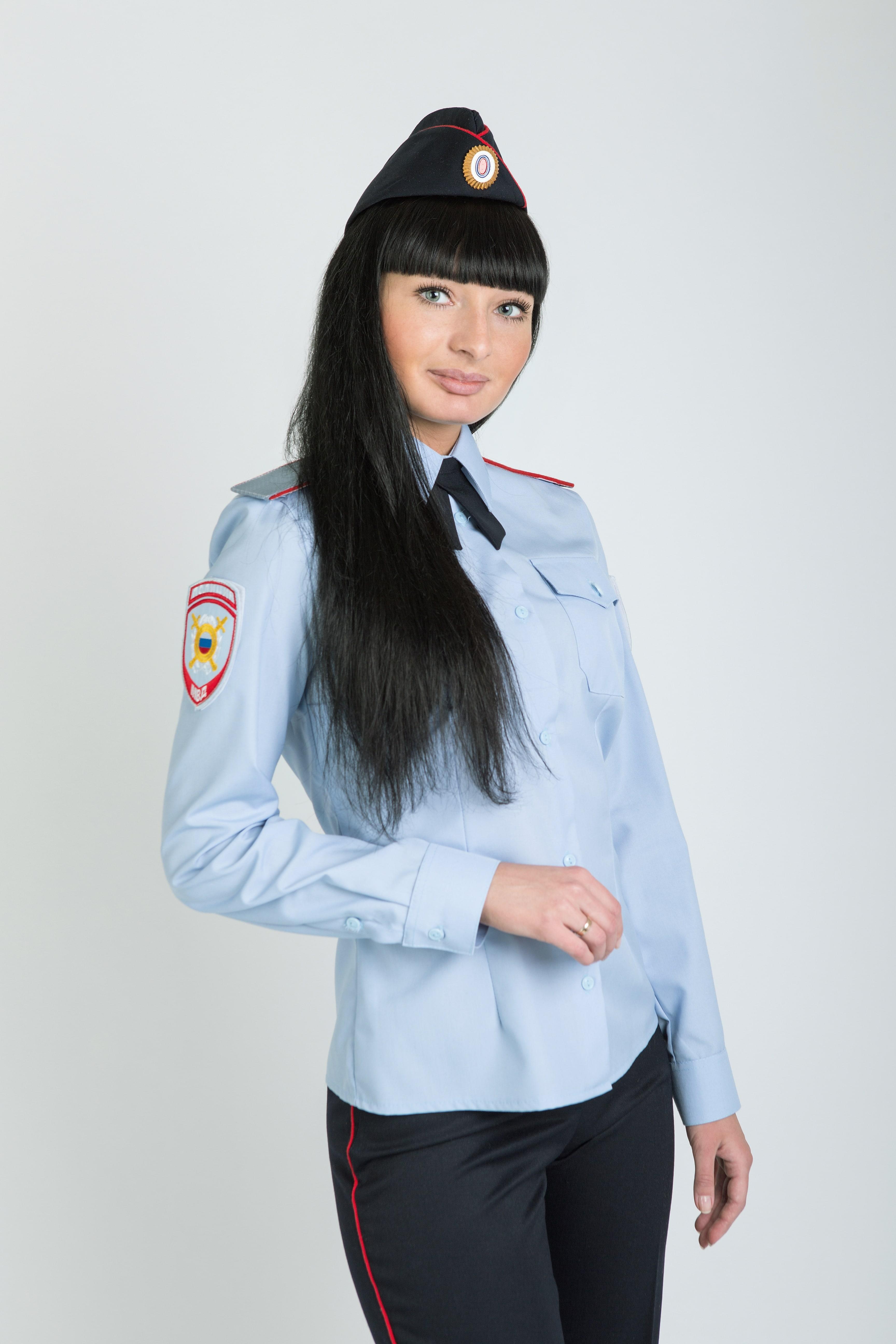 Фото формы полиции платье